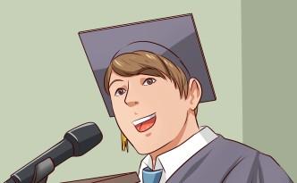 Mondd te a diplomaosztó ünnepségen a beszédet!